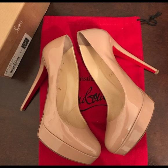 75fc08a9f5f Christian Louboutin Shoes | Bianca Heels Size 41 | Poshmark